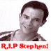 RIP Stephen Gately