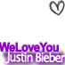 WELOVEYOUJUSTIN