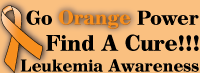 Leukemia Go Orange Power